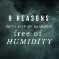 ?9 Reasons Why I Keep My Basement Free of Humidity