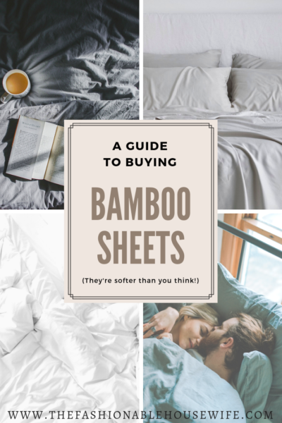 A Guide to Buying Bamboo Sheets