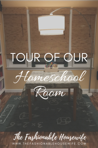 Tour of Our Homeschool Room & Home Decor