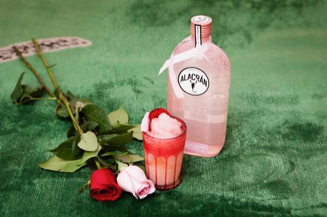 Recipe for Alacran Rose Cocktail Made With Alacran Tequila