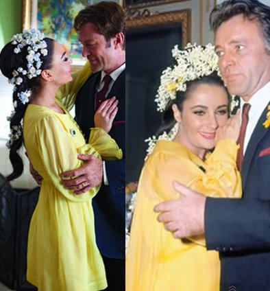 12 Celebrity Brides Who Chose Colors Over Traditional White