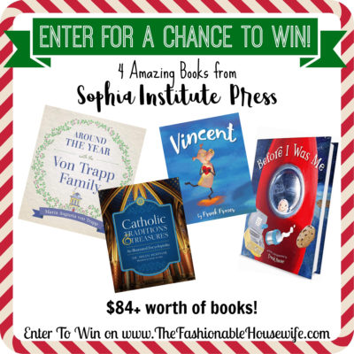 "Enter To Win 4 Amazing Books Including ""Around the Year with the VonTrapp Family""!"