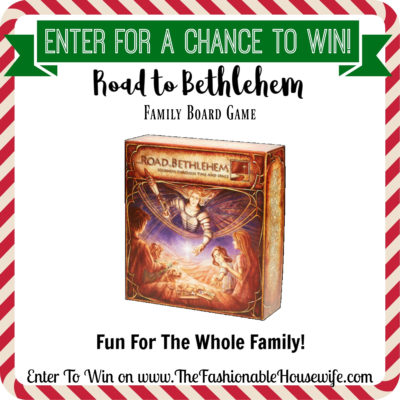Pre-Christmas GIVEAWAY! Enter To Win The Road to Bethlehem Board Game!