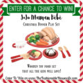 Enter To Win JoJo Maman Bébé Christmas Dinner Play Set