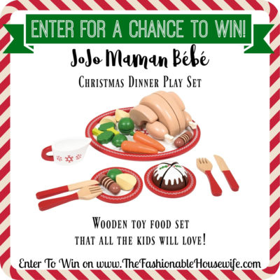 Enter To Win JoJo Maman Bébé Christmas Dinner Set