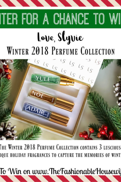 Enter To Win Love Sylvie Winter Perfume Collection
