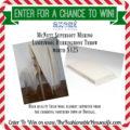 Enter To Win McNutt Supersoft Merino Lambswool Herringbone Throw worth $125