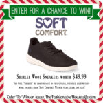 Enter To Win Soft Comfort Shirlee Sneakers