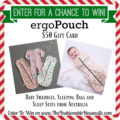Enter To Win a $50 Gift Card for ergoPouch!