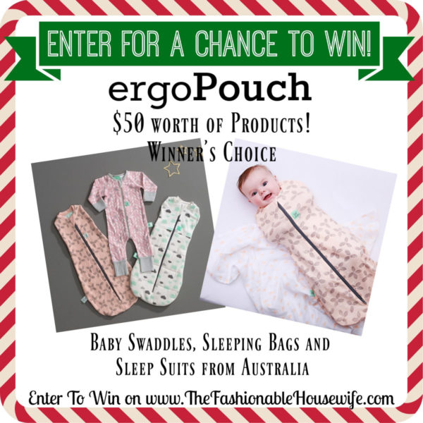 Enter To Win $50 of ergoPouch Products! Winner's Choice!