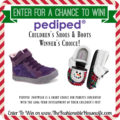 Enter To Win a Pair of Pediped Children's Shoes!