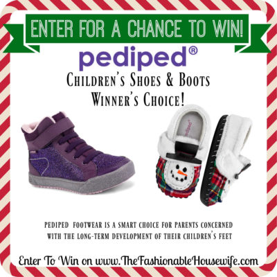 Enter To Win a Pair of Pediped Children's Shoes – Winner's Choice!