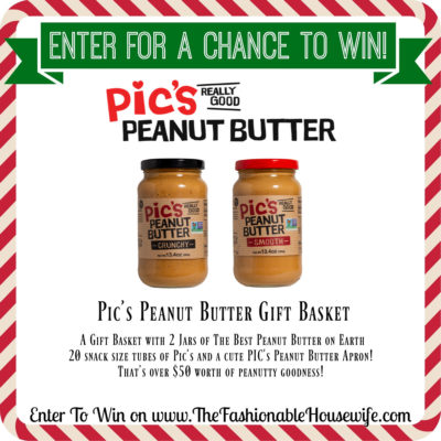 Enter To Win a PIC's Peanut Butter Gift Basket!