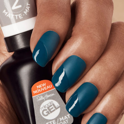 Get Sally Hansen's NEW Miracle Gel Matte Top Coat TODAY!