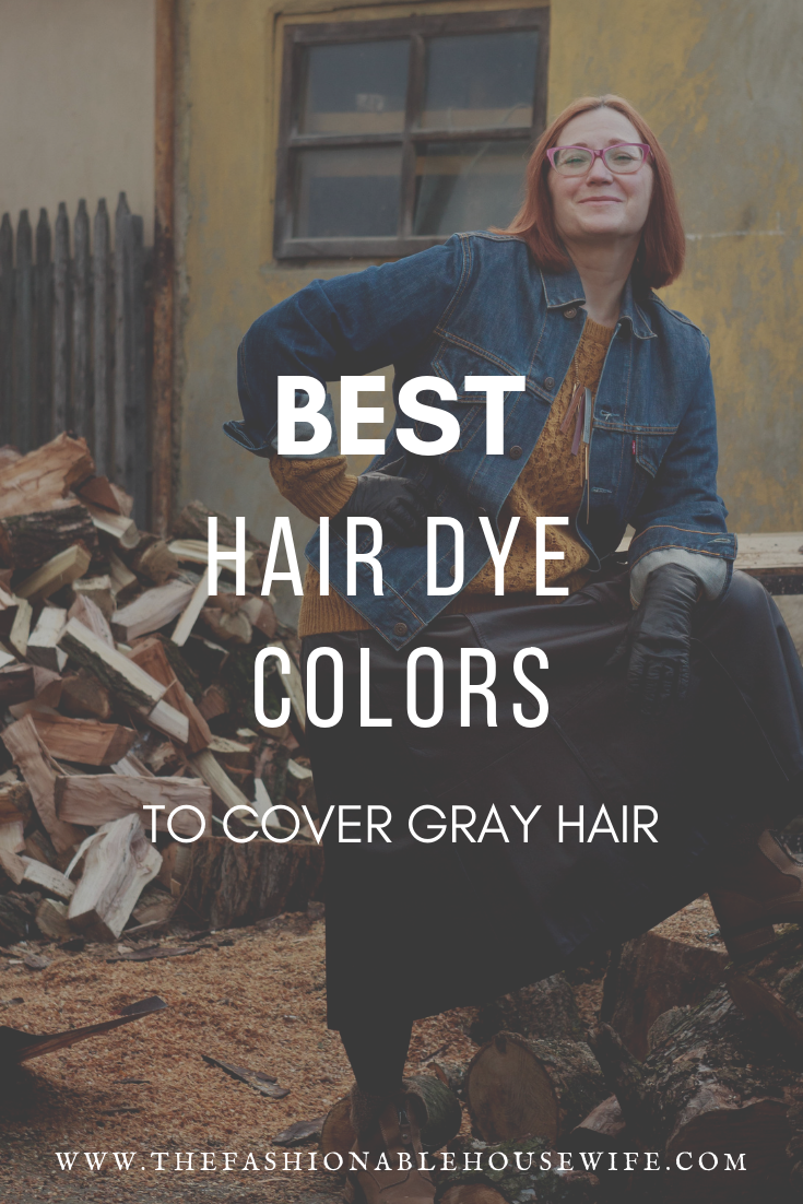 best hair dye colors to cover gray hair the fashionable housewife. Black Bedroom Furniture Sets. Home Design Ideas