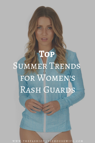 Top Summer Trends for Women's Rash Guards