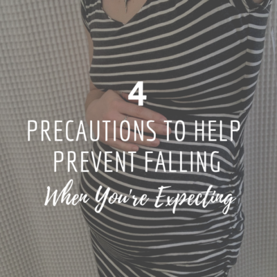 4 Precautions To Help Prevent Falling When You're Expecting
