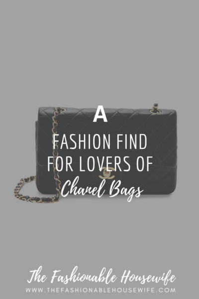 A Fashion Find For Lovers of Chanel Bags