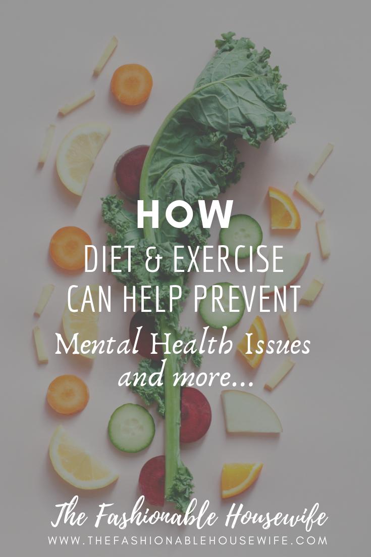 diet vs exercise mental health