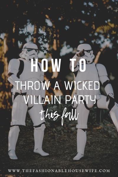 How To Throw a Wicked Villain Party This Fall