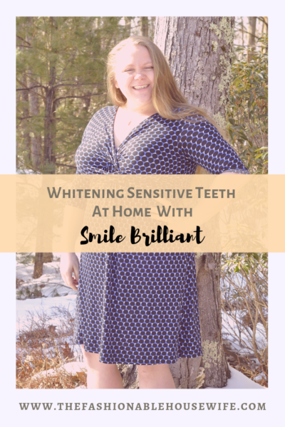 Whitening Sensitive Teeth at Home with Smile Brilliant