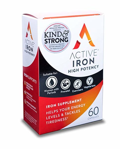 Why Active Iron is Important For Women's Health