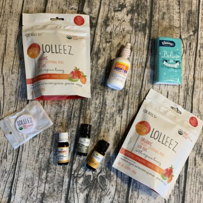 Allergy Season Essential – Lolleez Organic Throat Soothing Lollipops for Kids