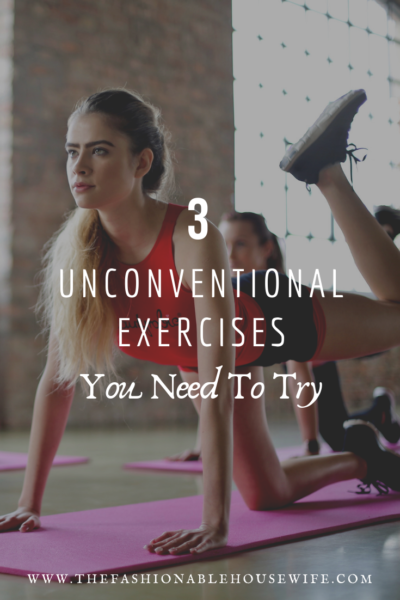 3 Unconventional Exercises You Need to Try