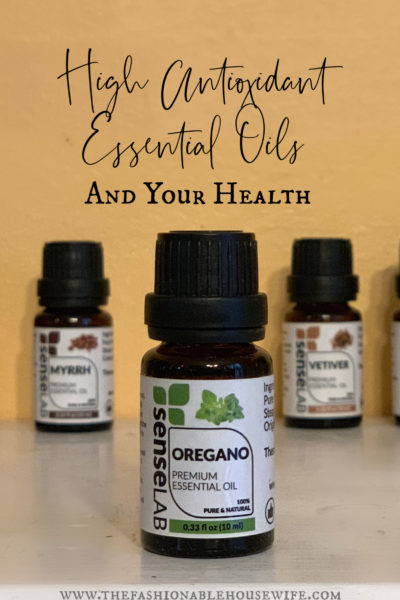 High Antioxidant Essential Oils and Your Health