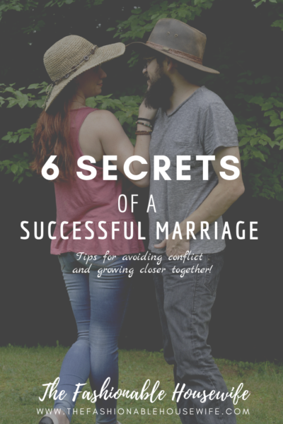 6 Secrets of a Successful Marriage