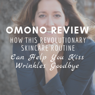 OMONO Review: How This Revolutionary Skincare Routine Can Help You Kiss Wrinkles Goodbye