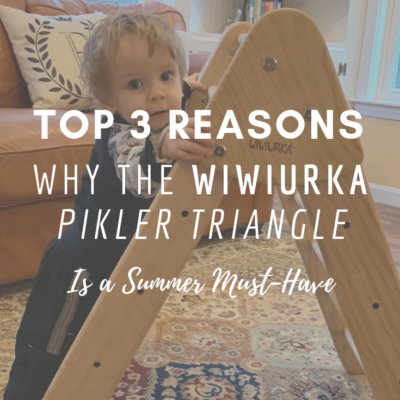 Why The Wiwiurka Pikler Triangle Is a Summer Must-Have