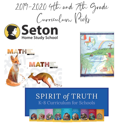 Our Homeschool Curriculum Choices for 2019-2020