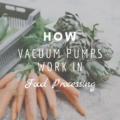 How Vacuum Pumps Work In Food Processing