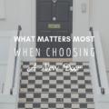 What Matters Most When Choosing A New Door