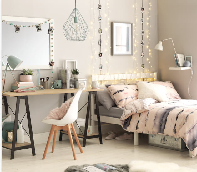 5 Totally Rad Teenage Bedroom Decor Ideas For The School Season The Fashionable Housewife