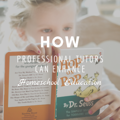 How Professional Tutors Can Enhance Homeschool Education