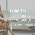 How To Choose Business Attire for Women In 2019