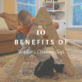 10 Benefits of Toddler's Climbing Toys