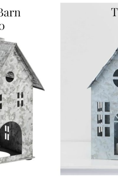 galvanized village houses