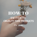 How To Switch To Cruelty-Free Products