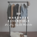 10 Wardrobe Essentials for Any Capsule Wardrobe