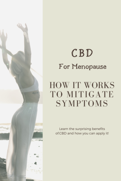 CBD for Menopause: How It Works to Mitigate Symptoms