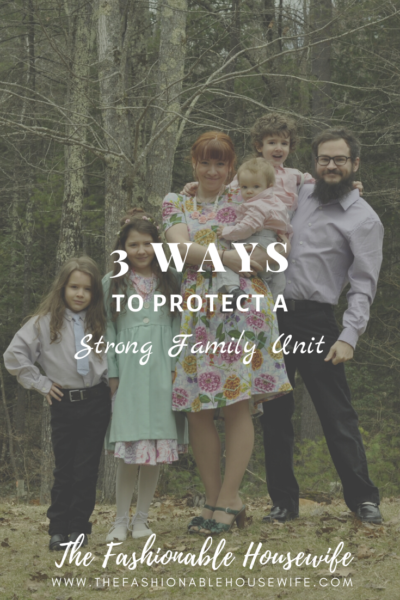 3 Ways To Protect A Strong Family Unit