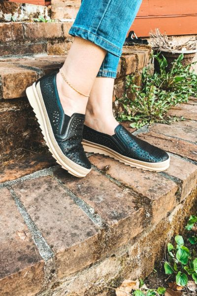 Enjoiya Aria Espadrille Slip-On Sneakers