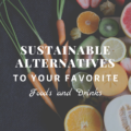 Sustainable Alternatives to Your Favorite Foods and Drinks
