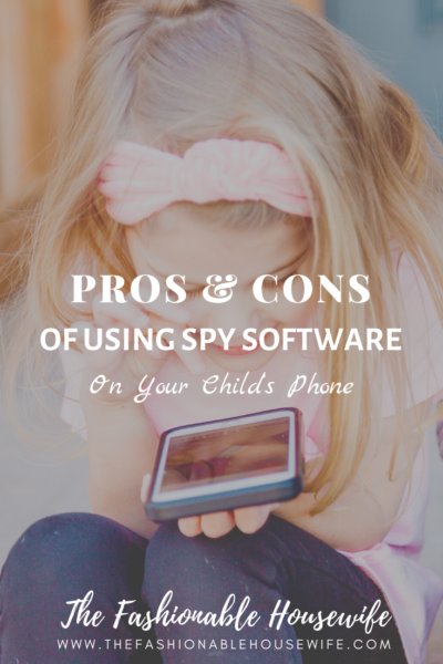 The Pros and Cons of Using Spy Software on Your Child's Phone