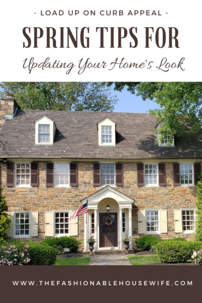 Load Up On Curb Appeal: Spring Tips for Updating Your Home's Look