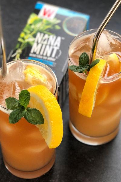 nana mint iced tea