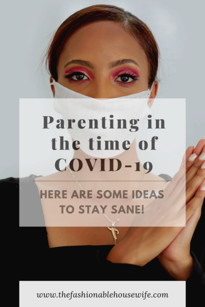 Parenting in the time of COVID-19
